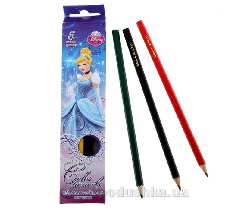 Набор цветных карандашей Princess CIAB-US1-P-6