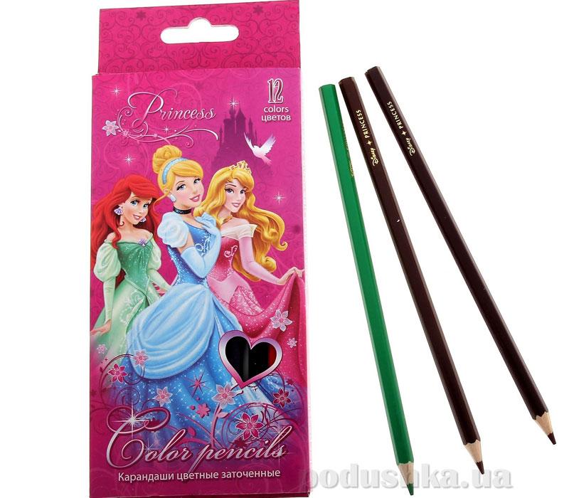 Набор цветных карандашей Princess PRAB-US1-1P-12