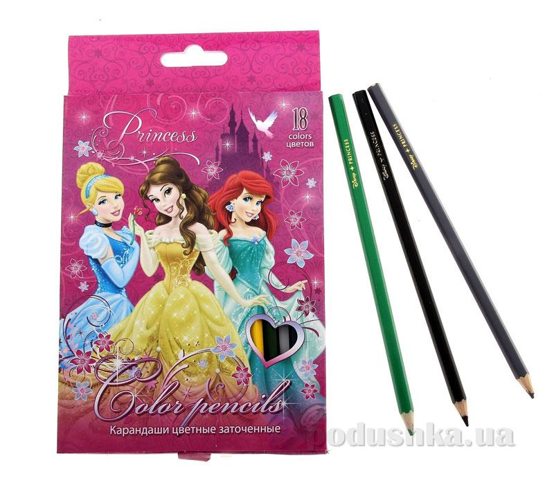 Набор цветных карандашей Princess PRAB-US1-1P-18
