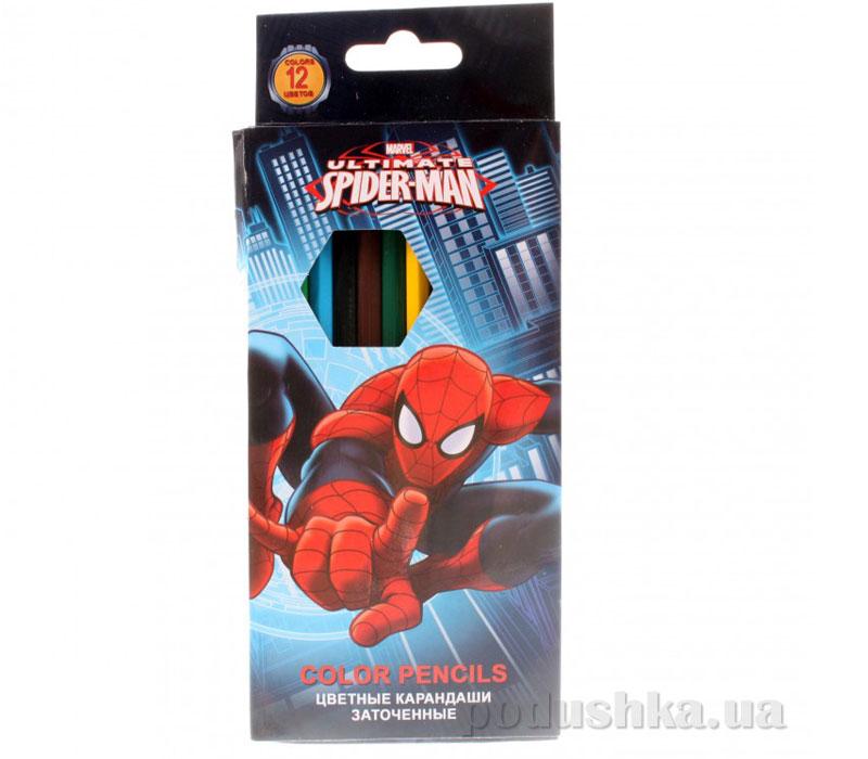 Набор цветных карандашей Spider Man SMAB-US1-1P-12