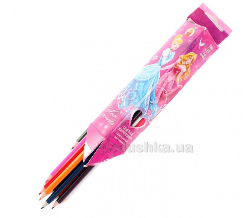 Набор цветных карандашей (треугольные) Princess PRAB-US1-3P-18