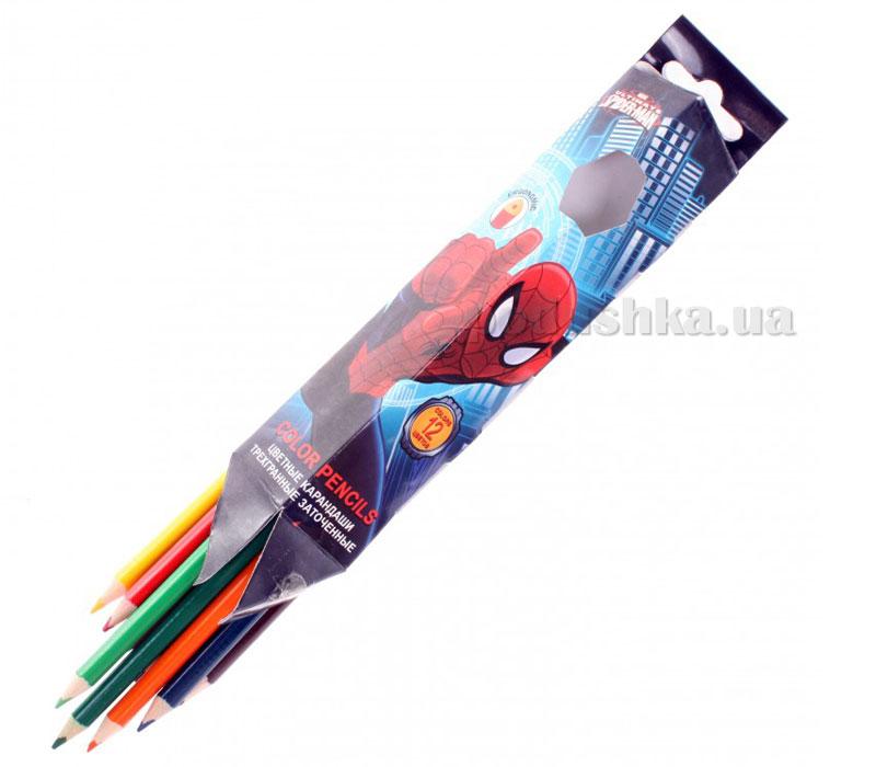 Набор цветных карандашей (треугольные) SMAB-US1-3P-12