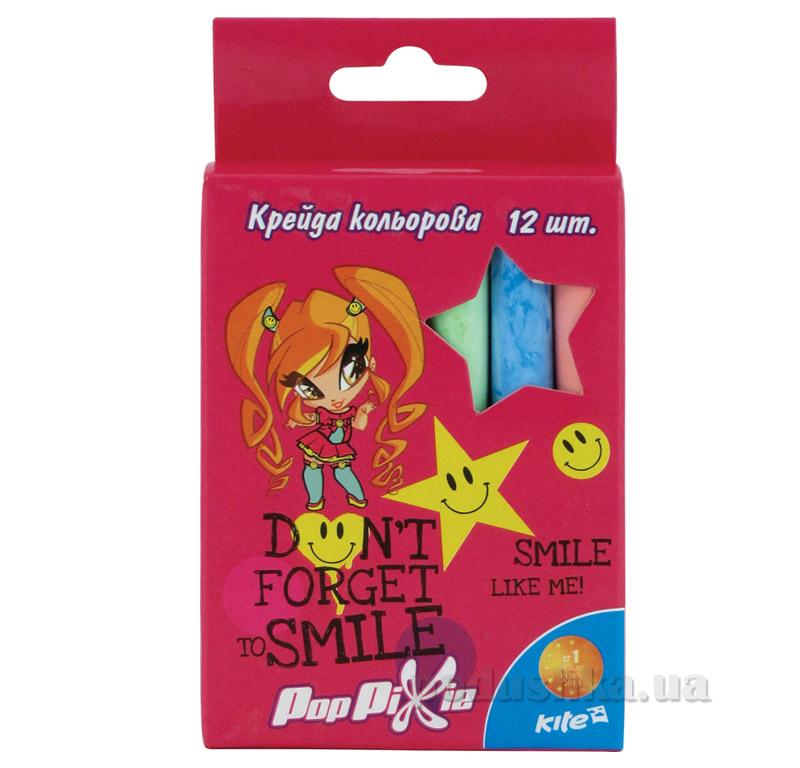 Набор цветных мелков Милая девочка Kite PP15-075K