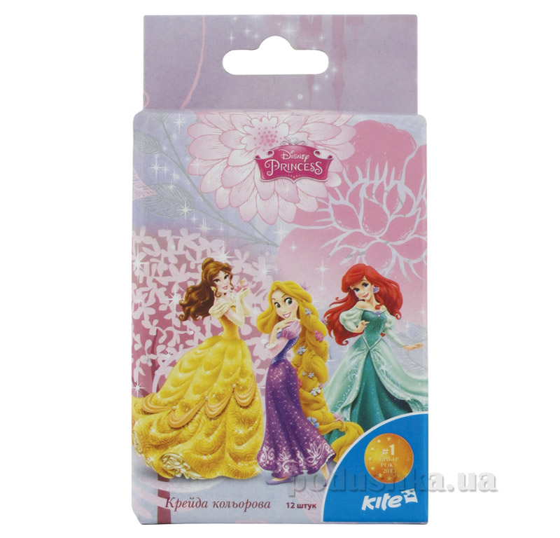 Набор цветных мелков Принцессы Kite P15-075K