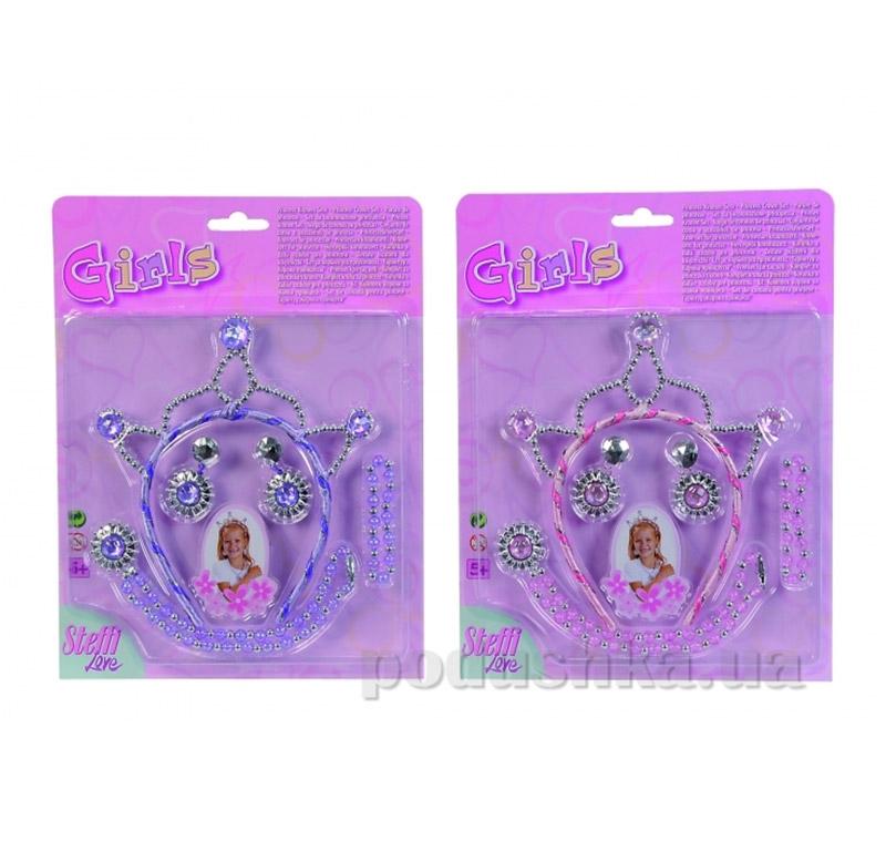 Набор украшений для девочки с тиарой Принцесса Simba