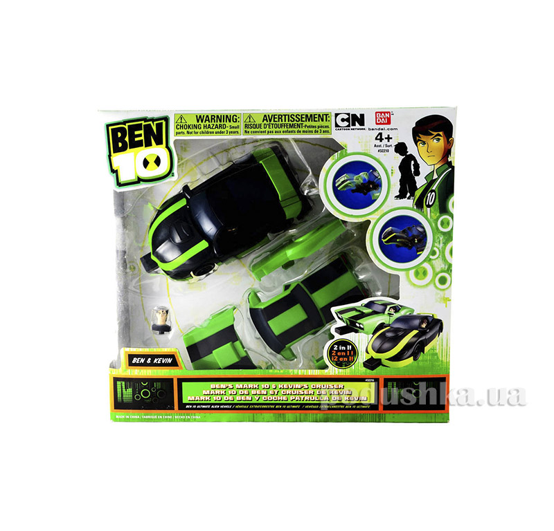 Набор Ultimate Alien Vehicle Ben's Mark 10 & Kevin's Cruiser Ben 10 37975-3