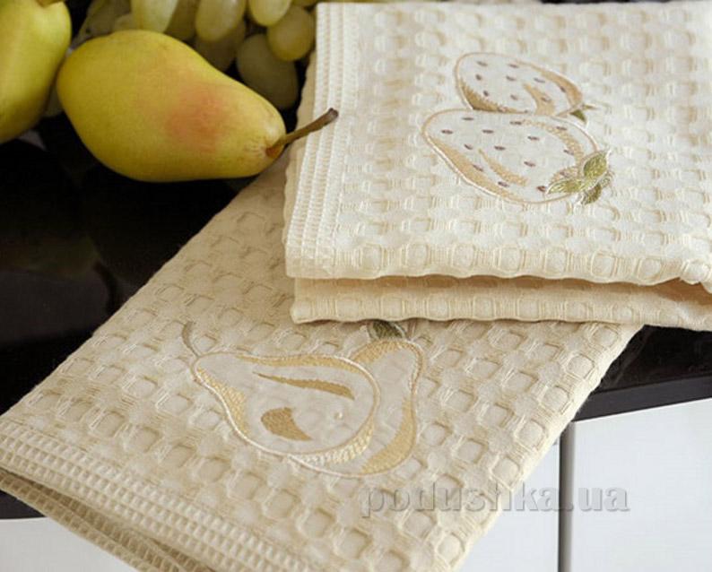 Набор вафельных кухонных полотенец Arya Cilek-Armut