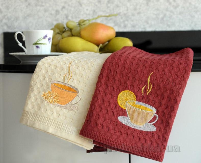 Набор вафельных кухонных полотенец Arya Ihlamur-Cay