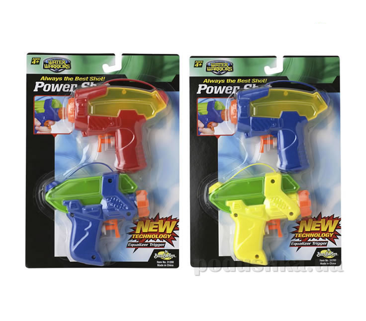 Набор водного оружия Power Shot Blaster 2 pack new BuzzBeeToys 31200