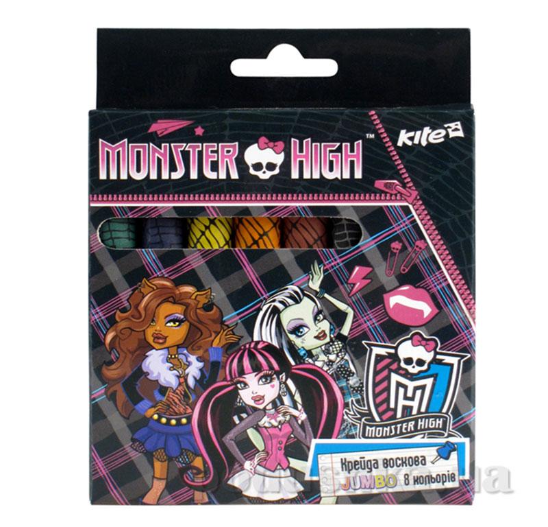 Набор восковых мелков Monster High Kite MH14-076K