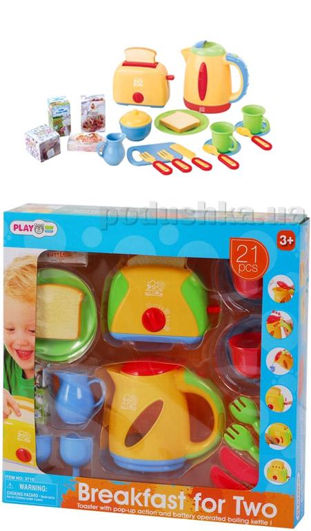 Набор Завтрак для двоих PlayGo 21 предмет