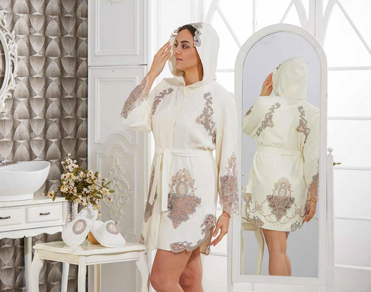 домашний женский халат podushka.com.ua