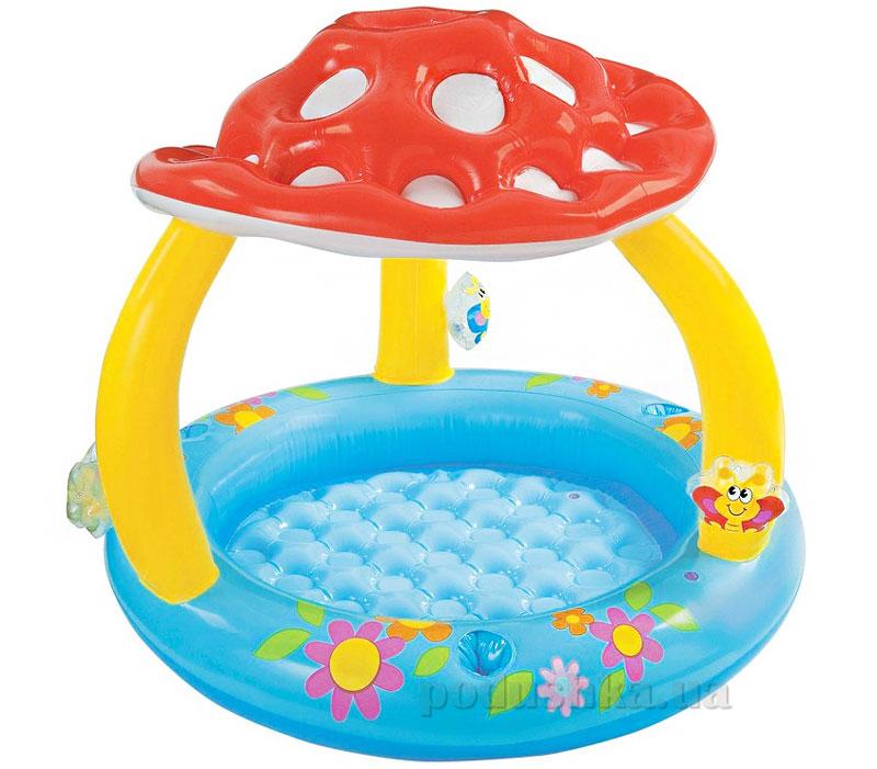 Надувной бассейн Intex 57407 Грибок с навесом