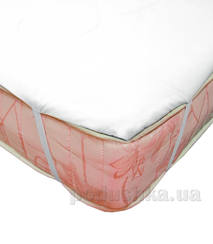 Наматрасник на резинке Ярослав синтепон белый