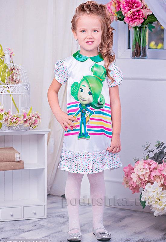 Нарядное платье для девочки Фиксики Zironka 179-1