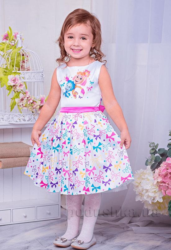 Нарядное платье для девочки Фиксики Zironka 195-2