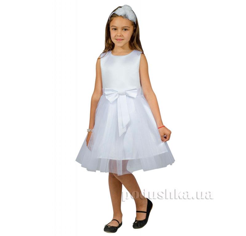 Нарядное платье Kids Couture 15-250 белое