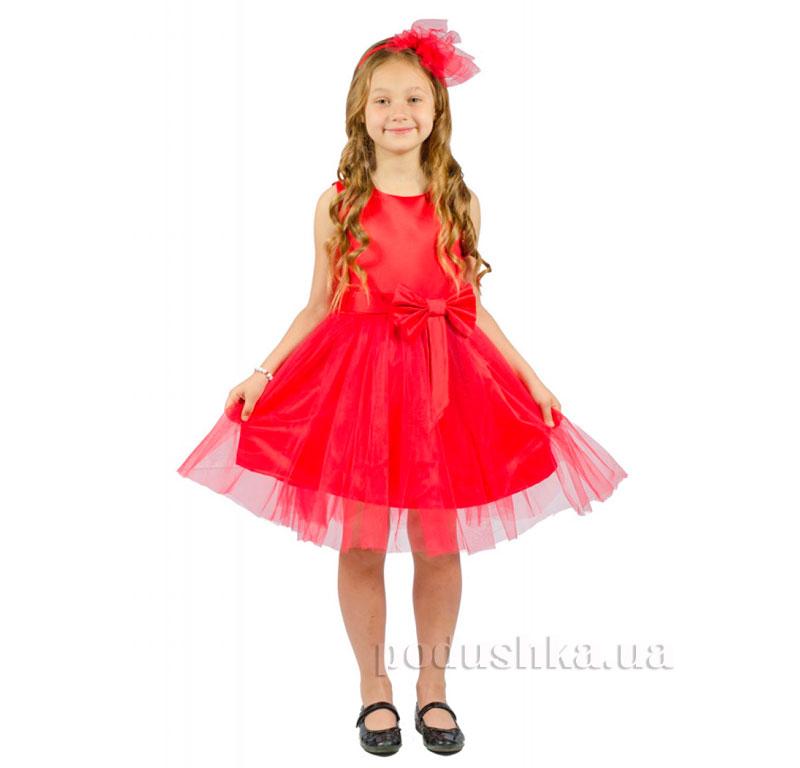 Нарядное платье Kids Couture 15-250 красное