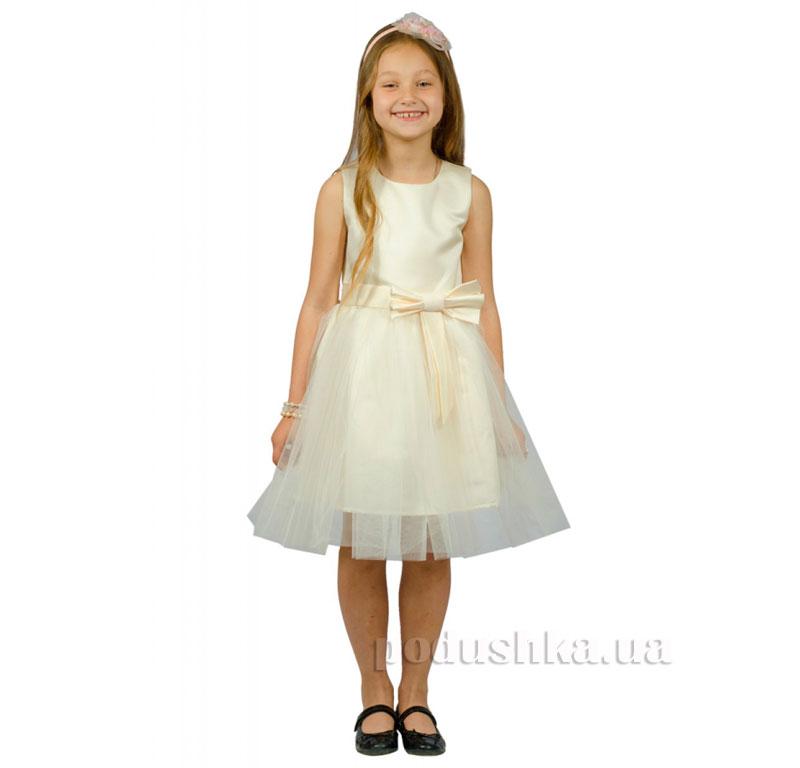 Нарядное платье Kids Couture 15-250 молочное