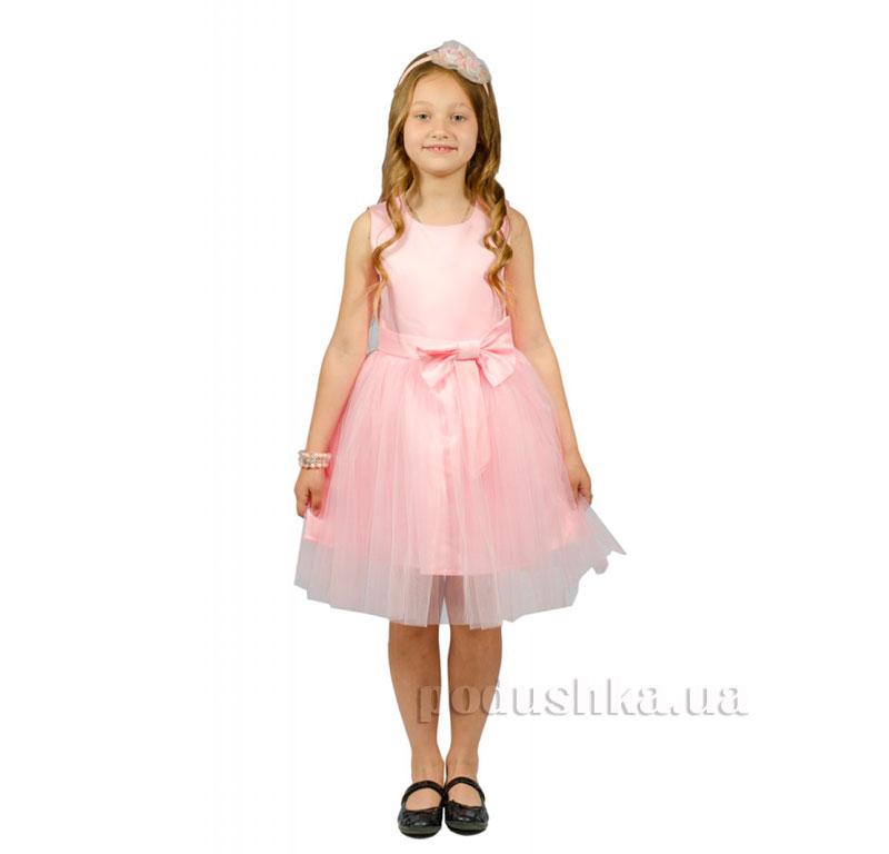 Нарядное платье Kids Couture 15-250 розовое