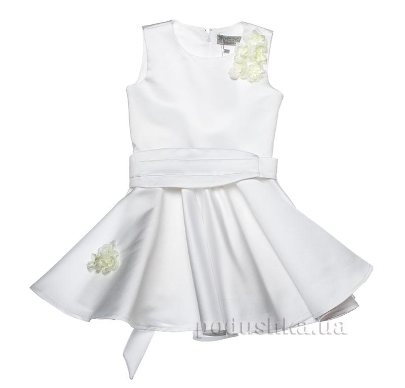 Нарядное платье Kids Couture 15-251 белое