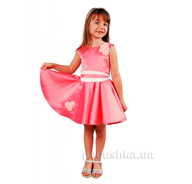 Нарядное платье Kids Couture 15-251 розовое