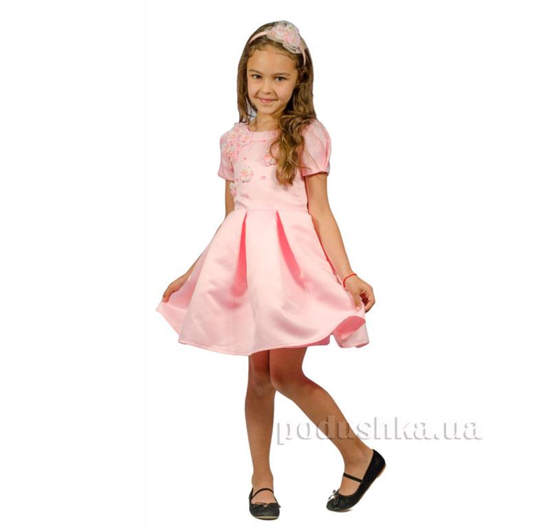 Нарядное платье Kids Couture 15-255 розовое