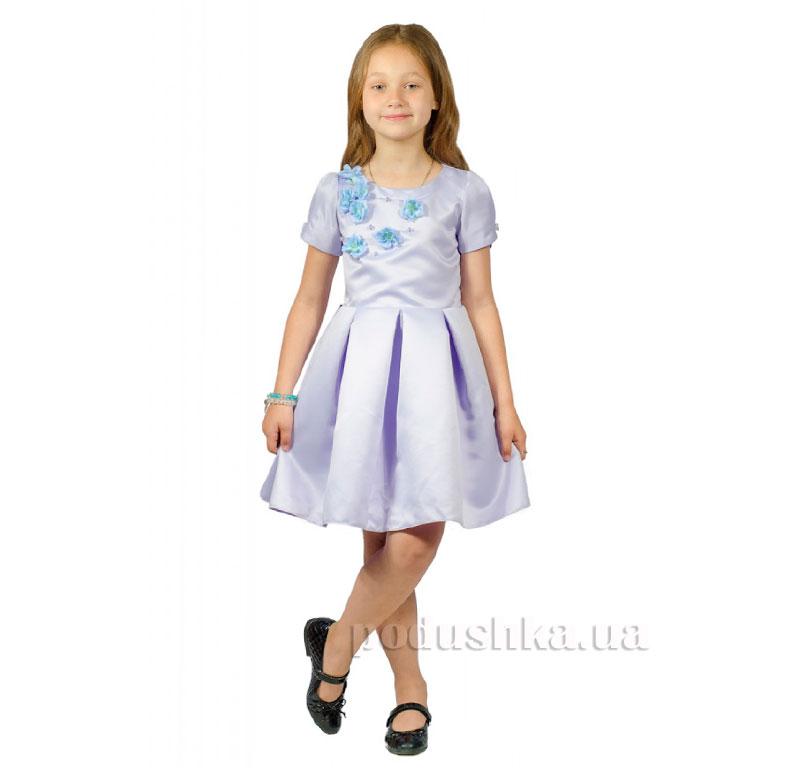 Нарядное платье Kids Couture 15-255 сиреневое