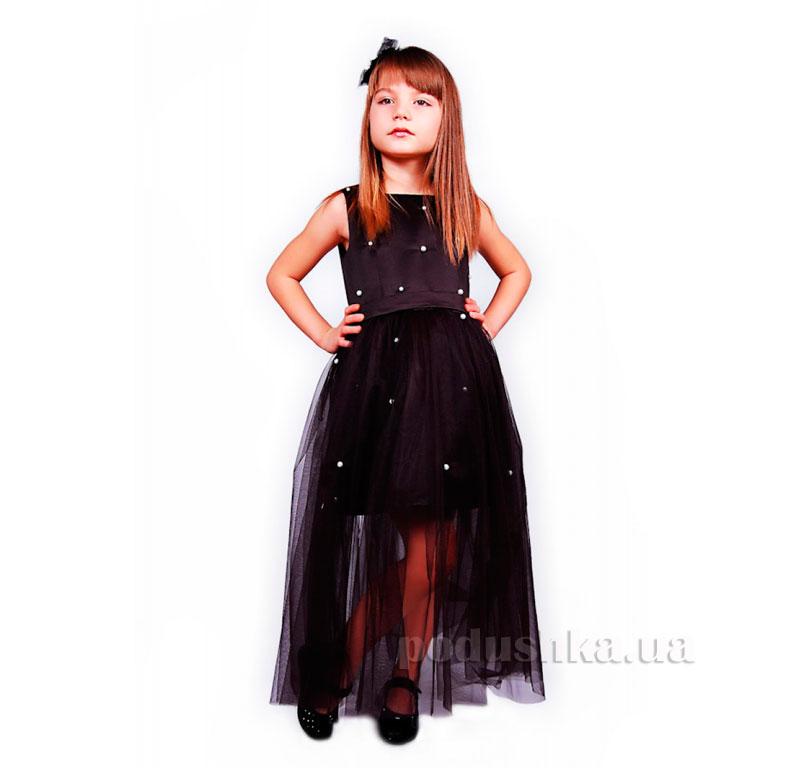 Нарядное платье Kids Couture 15-258 черное