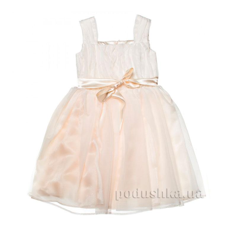 Нарядное платье Kids Couture 15-403 молочное