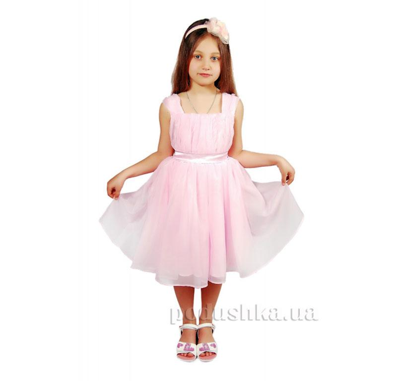 Нарядное платье Kids Couture 15-403 розовое