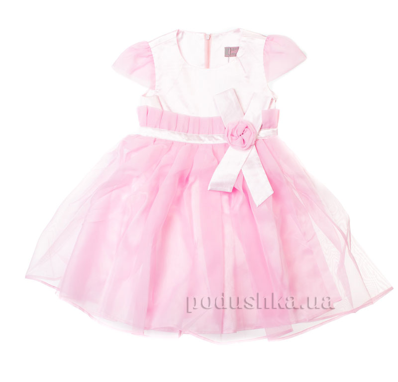 Нарядное платье Kids Couture 15-404 розовое