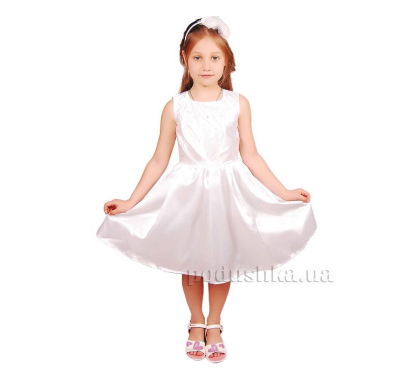 Нарядное платье Kids Couture 15-405 белое