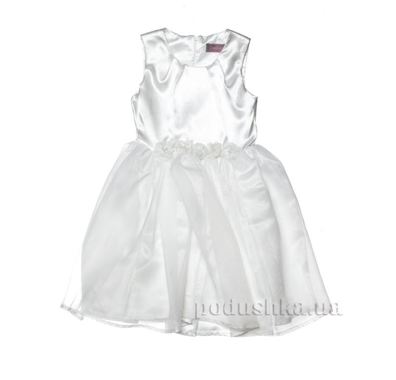 Нарядное платье Kids Couture 15-407 белое