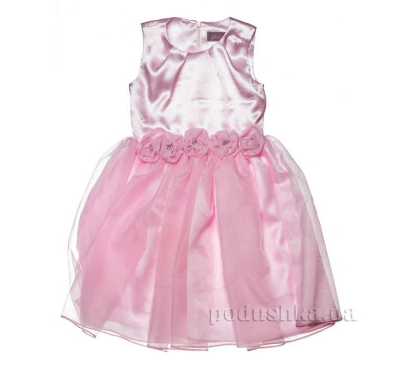 Нарядное платье Kids Couture 15-407 розовое