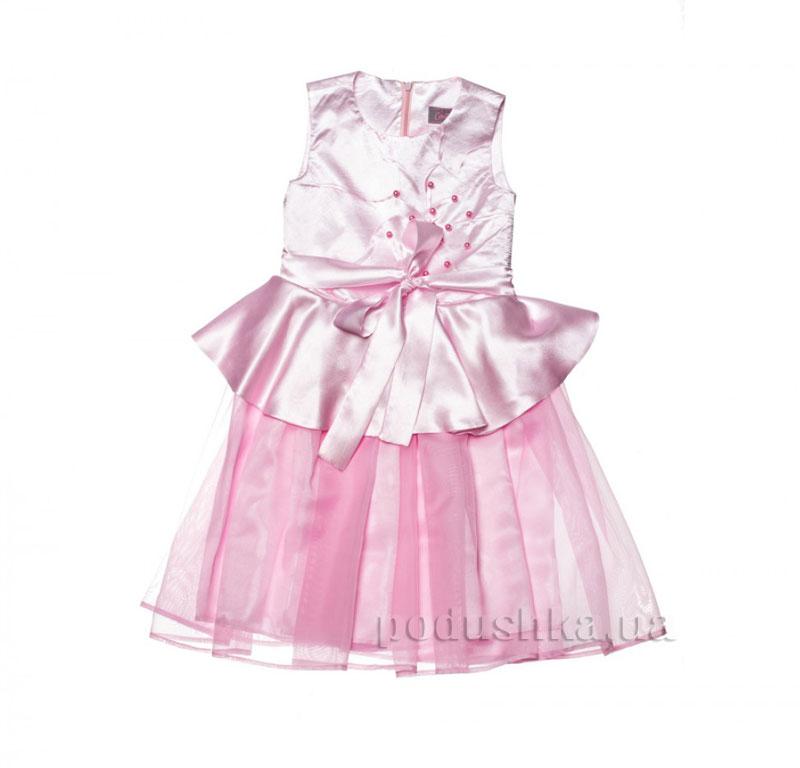 Нарядное платье Kids Couture 15-408 розовое