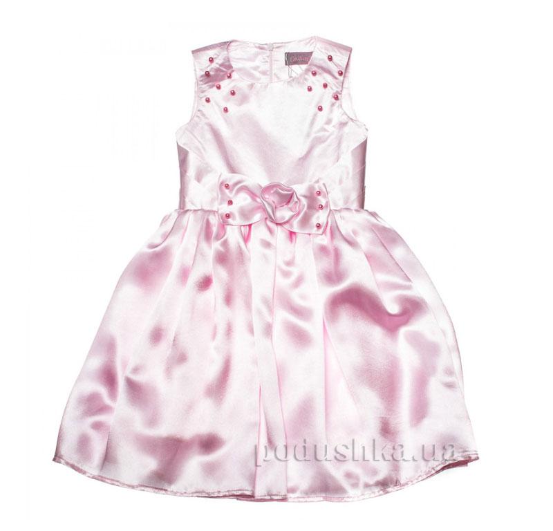 Нарядное платье Kids Couture 15-409 розовое