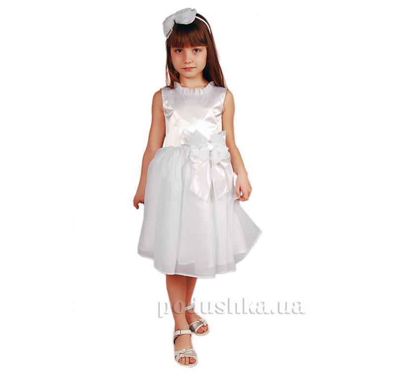 Нарядное платье Kids Couture белое