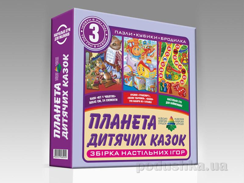 Настольная игра 3 в 1 Energy Plus Планета детских сказок