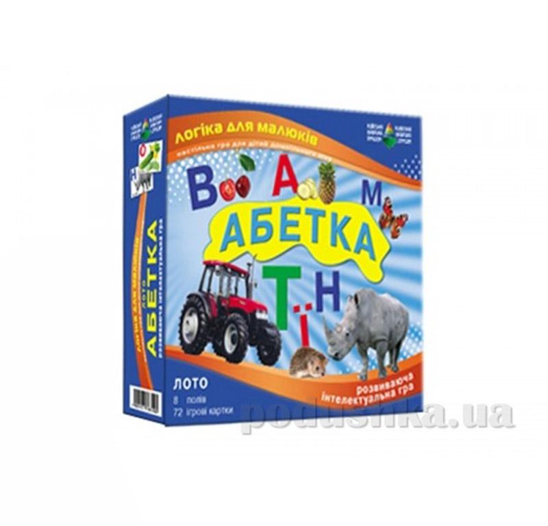 Настольная игра Азбука детское лото Energy Plus 6001348