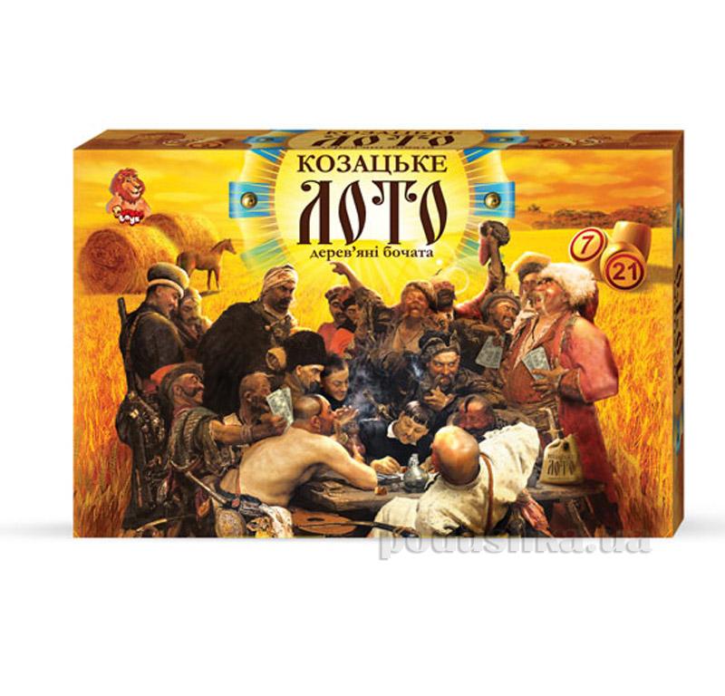 Настольная игра Danko Toys Большое Казацкое Лото