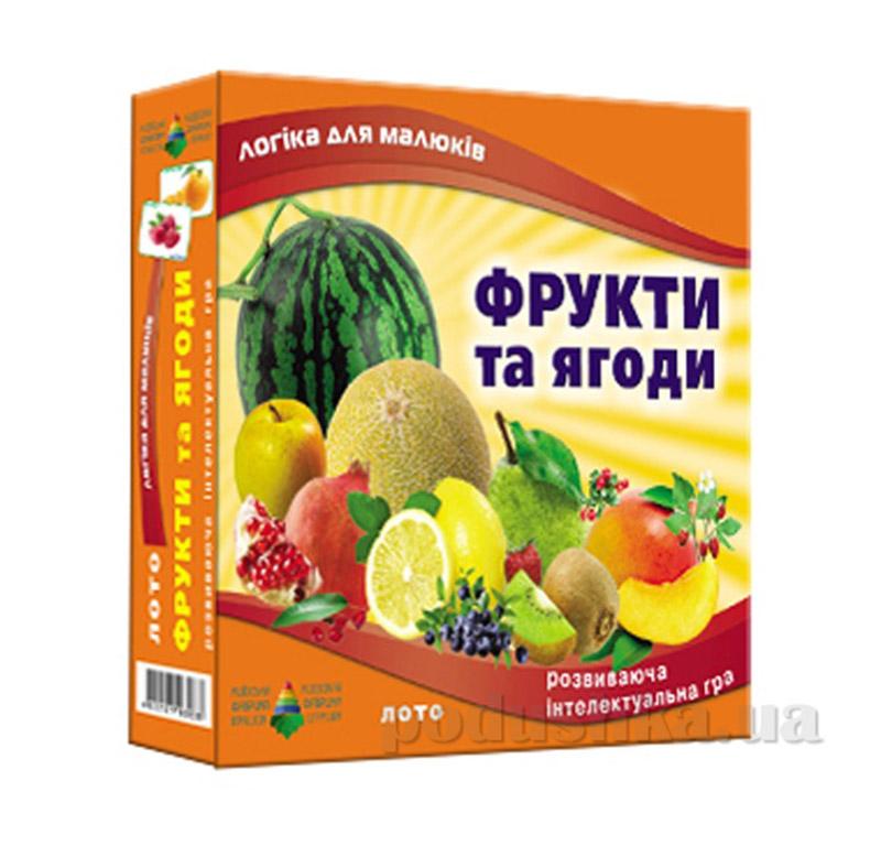 Настольная игра лото Фрукты и ягоды Energy Plus 6001350