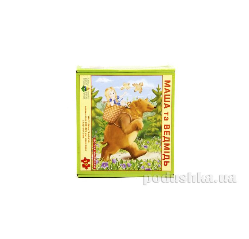 Настольная игра Пазл Маша и Медведь Энергия плюс 06110077