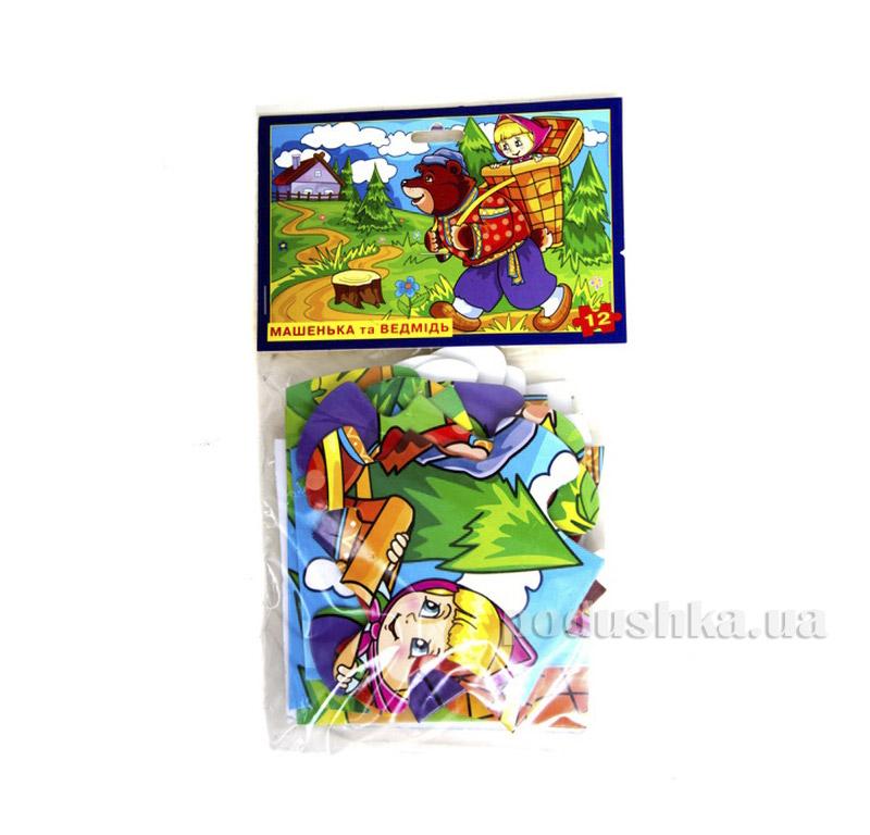 Настольная игра Пазл Машенька и Медведь Энергия плюс 06110065