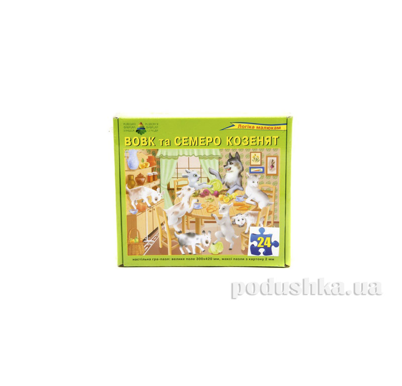 Настольная игра Пазл Семеро козлят Энергия плюс 06110079