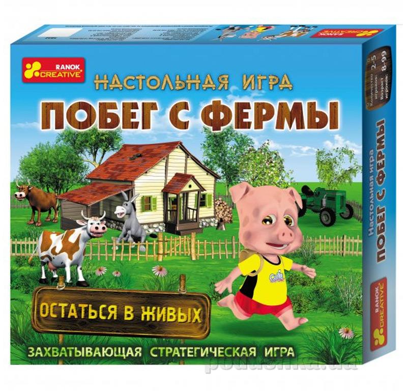 Настольная игра Ranok Creative Побег с фермы 5832