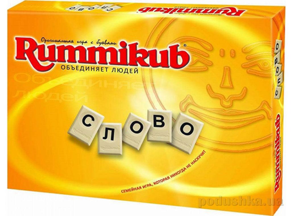 Настольная игра Rummikub с буквами KodKod 2604