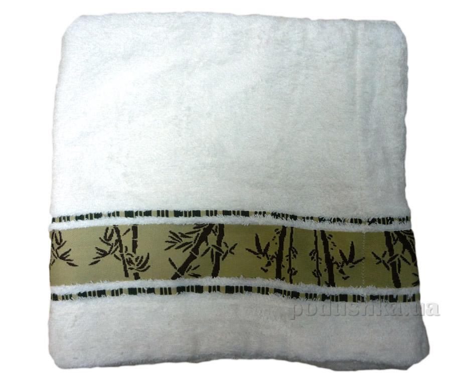 Наволочка махровая Mariposa бамбук белая