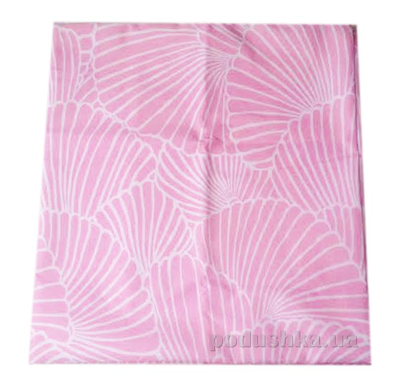 Наволочка ранфорс Вилюта 8626 розовый
