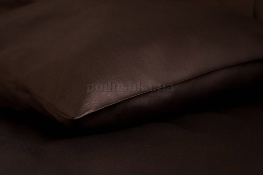 Наволочка Sleeper Set сатин Dark chocolate